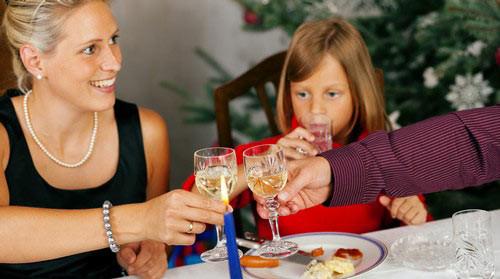 圣诞饮食营养巧搭配 让快乐与健康同行