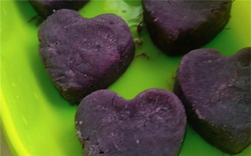 【2020】爱心紫薯泥的做法