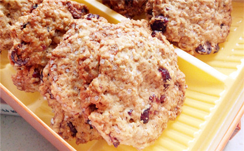 【2020】燕麦蔓越莓脆饼的做法