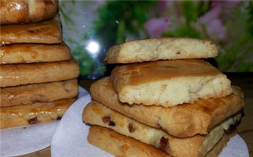 【2020】蔓越莓奶酥饼干的做法