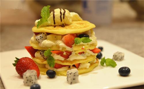 柠香 Pancake的做法