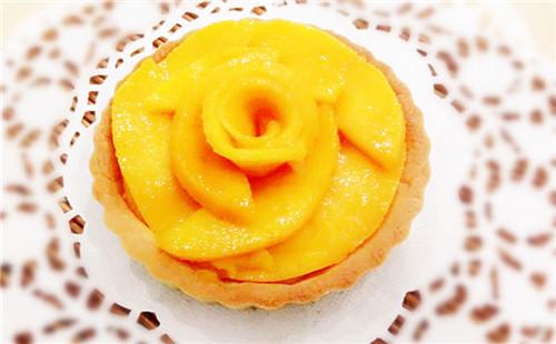 芒果芝士挞的做法