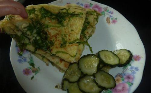 蔬菜丝软饼的做法