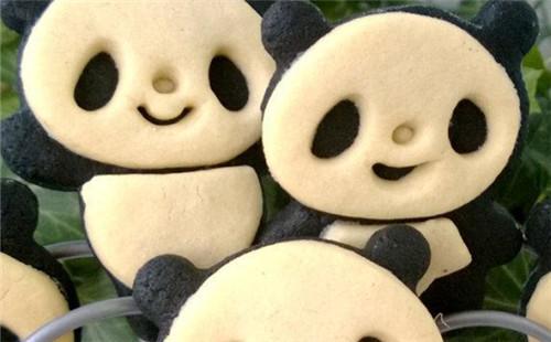 【2020】超萌熊猫饼干的做法