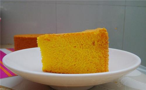 【2020】南瓜戚风蛋糕的做法