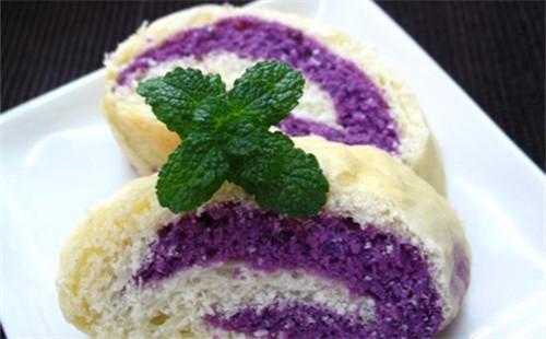 【2020】紫薯双色面包的做法