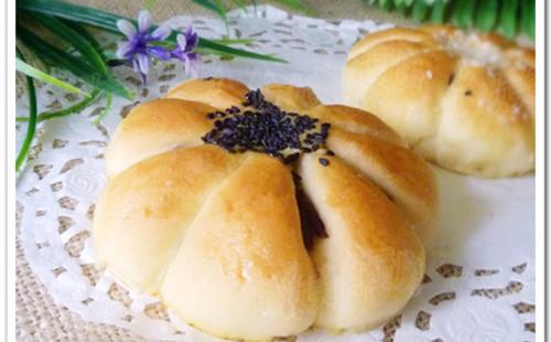【2020】花样红豆沙面包的做法