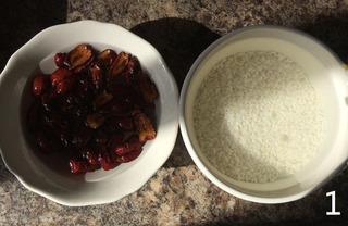 糯米红枣糕的做法步骤:1