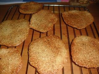 香脆的小零食-----芝麻甜薄脆的做法步骤:8