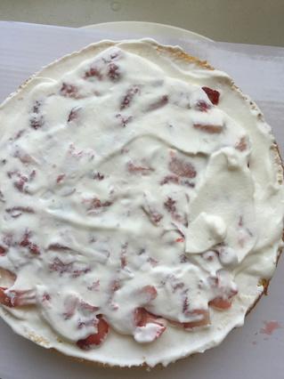 水果奶油裱花蛋糕的做法步骤:4