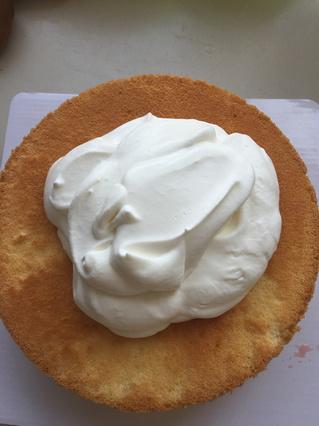 水果奶油裱花蛋糕的做法步骤:6