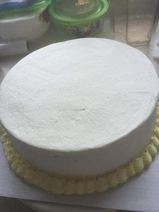 水果奶油裱花蛋糕的做法步骤:7